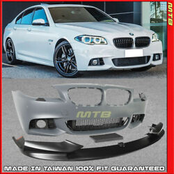 M Sport Style Front Bumper PDC For BMW 14 15 16 5 Series F10 LCI Performance Lip