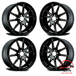 Set Of 4 Mercedes C-class C63 2017-2019 18 Factory Oem Staggered Wheels Rims