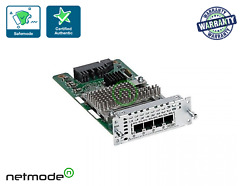 New Cisco Nim-4fxsp 4-port Network Interface Module - Fxs, Fxs-e And Did For Isr