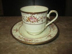 Noritake Cup And Saucer Brently Mint 9730 Multiple Available