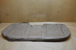07-09 W221 Mercedes S550 Rear Seat Lower/upper Cushion Skin Cover Brown