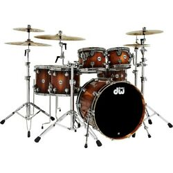 DW Collector's Series Pure Almond 5-Piece Shell Pack Toasted Almond Burst