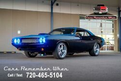1970 Dodge Challenger Show Stopper  Custom Restomod  5-Speed 512CID Stoker V8 5-speed Black