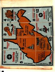 12 Different Nice Set Joanne Mine Eastern Coal Co Mining Stickers  927