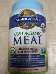 Garden Of Life Meal Replacement Organic Protein Vanilla Exp 12/22 34.2oz22