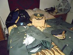 Full Bird Colonel Complete Set 4 Jackets 6 Pants 3 Shirts 4 Hats
