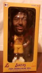 Los Angeles Lakers Karl Malone Bobblehead Basketball Player 7 Inch Doll 2004