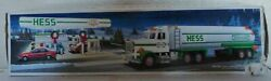 1990 Hess Toy Tanker Truck With Working Lights And Sounds Tb1