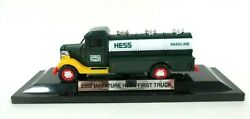 2000 Miniature Hess First Truck Gasoline Tank Car W/ Light Operation And Display