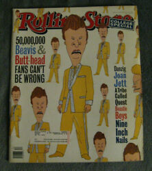 Rolling Stone Magazine March 24 1994 - Beavis And Butt-head Nine Inch Nails Mtv