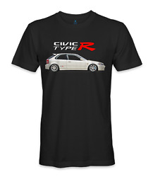 Honda civic type r ek hatch t-shirt $15.95