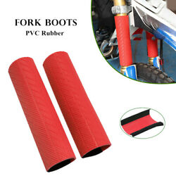 Motorcycle Fork Sleeve Rubber Cover Gaiters Boots Gaiter Waterproof Dust-proof