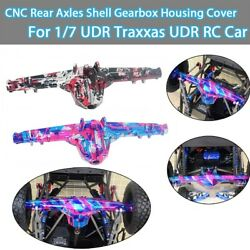 GPM CNC Rear Axle housing Cover For UDR Traxxas Unlimited Desert Racer 1:7 Car
