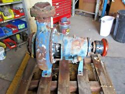 Goulds 3196 Xlt 6 X 8 - 15 Iron Pump 917957j Used