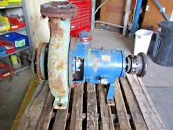 Goulds 3196 Xlt 6 X 8 - 15 Iron Pump 918856j Used