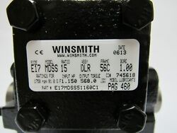 Winsmith Reducer E17mdss51160c1 Gearbox Right Angle 1511 Bore 56c Frame