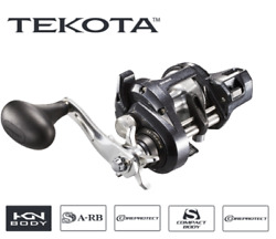 SHIMANO TEKOTA A with LINE COUNTER TEK500HGLCA  Newly Designed for 2019