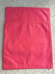 Designers Guild Custom Pair Table Runners Placemats Interlined New Pink Cotton