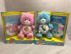 Baby Hugs and Baby Tugs Care Bears stuffed animals with books