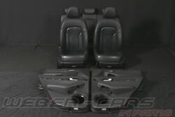 Audi Q5 8r Leder Ausstattung Lederausstattung Black Leather Interior Seats