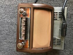 Mercedes Vintage Am Radio For All Pontons Model Very Rare