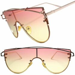 Designer Sophisticated Fancy Fashionable Womens Sunglasses Pink  $12.99