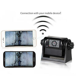 Wifi Wireless Trailer Hitch Camera Powered Rechargable For Iso Andriod Phone App