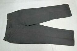 Orvis Mens Gray Green Outdoor Field Canvas Pants Size 40 38.5w X 30.5l Nwot