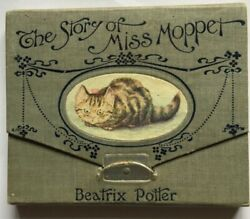 THE STORY OF MISS MOPPET 1906 1ST EDITION 1906 CONCERTINA FORMAT BEATRIX POTTER