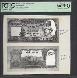 Nepal Face And Back 100 Rupees Unissued Pick Unlisted Photograph Proof Unc