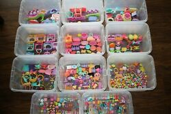 Lot of 650+ accessories only Littlest Pet Shop clothes food cats dogs Little LPS