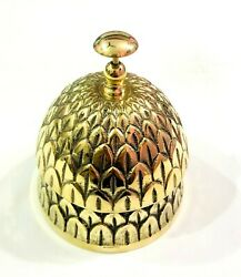 Brass Pineapple Style Hotel Front Desk Bell Vintage Sale Service Counter Bell