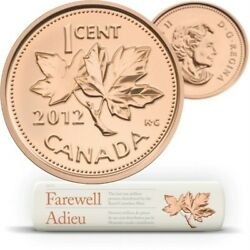 Farewell To The Penny Rempacement Wrap Roll - 1-cent Coins 201202650r/20,000