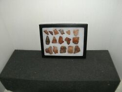 Authentic Southwestern Arrowheads, Spearheads,and Bits Lot 2