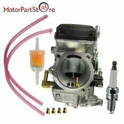 40mm Carburetor Carb Fit For Sportster Xl1200 Xl 883 Softail Dyna Touring