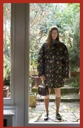 Floral Bomber Jacket-with Tags- Rrp4,380 Aud