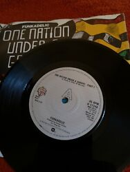 Funkadelic One Nation Under A Groove Pt 1 C/w Pt 2 Demo Pic Sleeve Ex/cond
