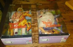 Mary Poppins Barbie Doll And Bert Ken Doll Collector Disney Lot 2