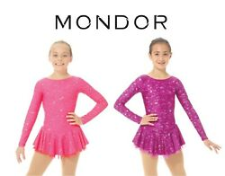Mondor Shimmery Figure Skating Competition Dress Child And Adult Sizes New W/ Tags