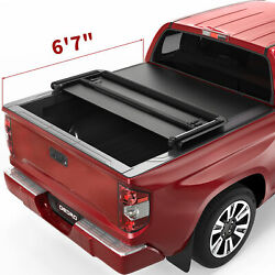 Oedro Tonneau Cover Fit For 2014-2021 Toyota Tundra 6.5ft Bed Soft Tri-fold