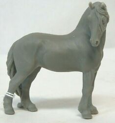 Animal Artistry Donna Chaney Friesian Stallion Resin Horse Stablemate Unpainted