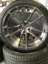 Used Staggered 20 Stance Wheels W/ Michelin Tires