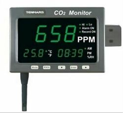 Tenmars Tm-187 Large Led Screen Co2 / Temperature / Humidity New Ak