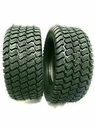 Two New - 18x8.50-8 4p Lawn Tractor Tires Turf Master Style 18x8.5-8 Free Ship