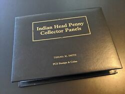 Postal Commemorative Society Indian Head Penny Collector Panels 1880-1909
