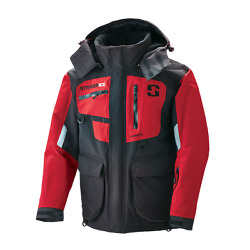 Striker Ice Mens Climate Jacket 2X-Large 116216 Red/Black  FREE FOSSIL BALL CAP