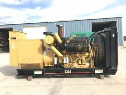 _750 kW CAT Generator Set year 2001 268 Hours 12 Lead Reconnectable 3412 ...