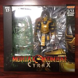 Storm Collectibles Nycc 2019 1/12 Mortal Kombat Cyrax Action Figure - In Stock