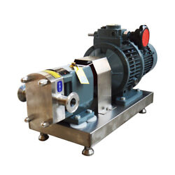 Cam Rotor Pump For Peanut Butter Chili Sauce High Viscosity Delivery 220v