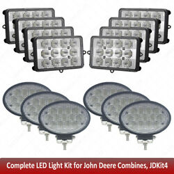 X14pc Led Upper Cab Light For John Deere 9670sts,9750sts,9760sts,9770sts,9870sts